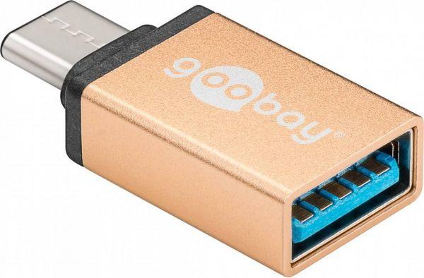 USB-C - USB 3.0 Adapter, gold